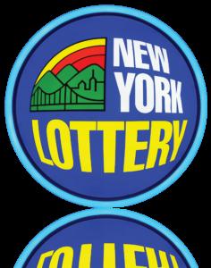 NY Lottery Logo Sign